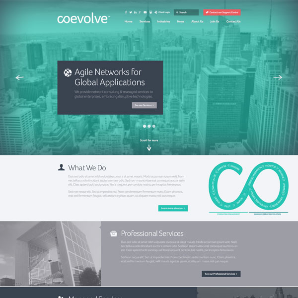 Coevolve website